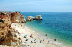 Apartment with one bedroom in Portimao with wonderful city view and WiFi 150 m from the beach