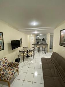 Apartamento no centro de Guarapari (apart-hotel).