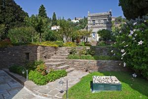 Hortensia Villa with Marvelous Multi-Level Garden Andros Greece