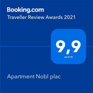Apartment Nobl plac