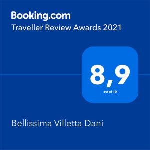 Bellissima Villetta Dani