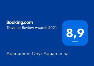 Apartament Onyx Aquamarina