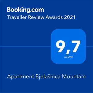 Apartment Bjelašnica Mountain - Bjelašnica