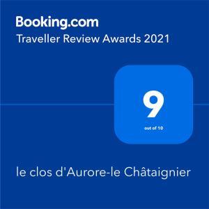 le clos d Aurore-le Châtaignier