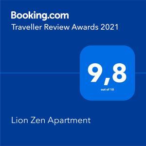Lion Zen Apartment
