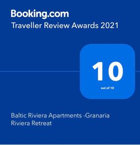Baltic Riviera Apartments Granaria Riviera Retreat