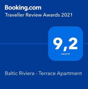 Baltic Riviera Terrace Apartment