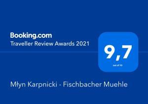 Młyn Karpnicki Fischbacher Muehle