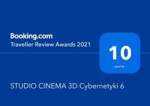 STUDIO CINEMA 3D Cybernetyki 6