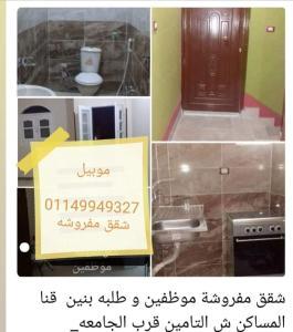 العز للشقق المفروشة محافظة قنا 01149949327