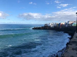 Ocean view in front of Loro Parque