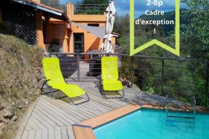 beautiful cottage with pool: 8 pers - AbcAlberghi.com