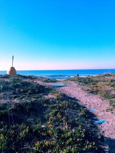 La casina sulla spiaggia