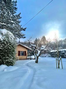 Sielankowy domek w górach