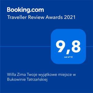 Willa Zima Twoje wyjątkowe miejsce w Bukowinie Tatrzańskiej