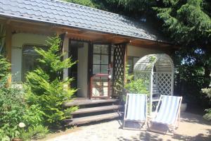 Walentynka romantyczny domek 2os z prywatnym ogródkiem