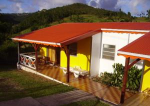 House with 2 bedrooms in Sainte Luce with wonderful mountain view shared pool enclosed garden