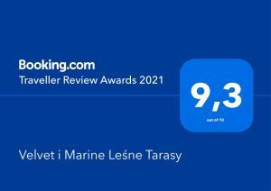Velvet i Marine Leśne Tarasy