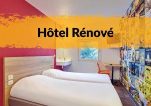 """hotelF1 La Rochelle Angoulins """"Rénové"""""""
