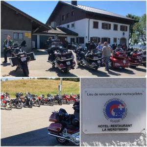Café-Rencontre de motos