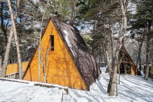 Woodland cottages