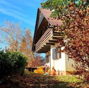 Pet & Family Friendly House Viktorija - house near Golica with Triglav view