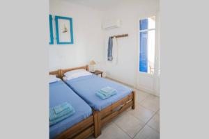 Lovely family house with majestic Aegean view Andros Greece
