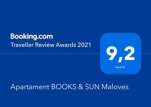 Apartament BOOKS SUN Maloves