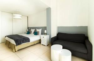 Florella République Apartment, Apartmány  Cannes - big - 58