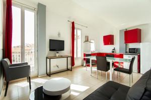 Florella République Apartment, Apartmány  Cannes - big - 49