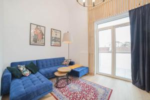 Mrągowo dwupoziomowy Apartament Indygo 85m2 z widokiem na jezioro