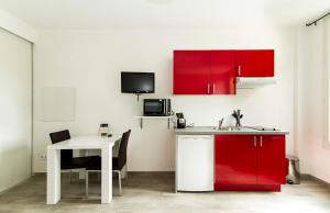 Florella République Apartment, Apartmány  Cannes - big - 47