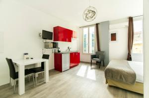Florella République Apartment, Apartmány  Cannes - big - 46