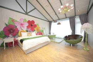 Follow Me designed B&B, Priváty  Dongshan - big - 15
