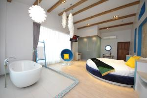 Follow Me designed B&B, Priváty  Dongshan - big - 4