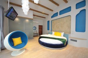 Follow Me designed B&B, Priváty  Dongshan - big - 9