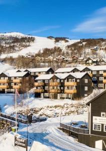 Oppdal Alpintun ski in ski out
