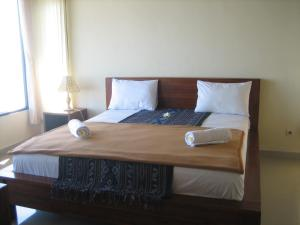 Kamar Standard  Double dengan Pemandangan Laut Lucky Paradise Bungalows on The Beach