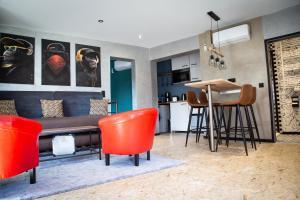 East BOX 40A - Ferienhaus in Modern Art