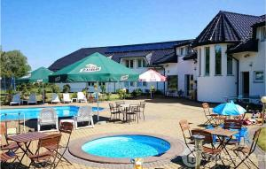 Beautiful home in Mielno with Outdoor swimming pool WiFi and 2 Bedrooms