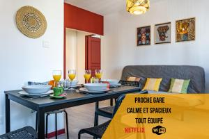 Le Safari By AndersLocation - T2 Spacieux - Clim - Netflix - Wifi