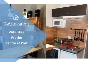 Toé Location Studio Léo WiFi Fibre Proche Centre