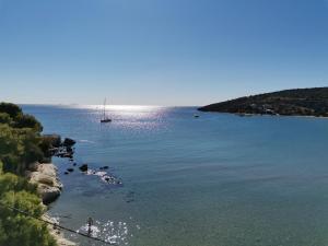 Sandy Beach Aegina Greece
