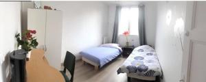 Chambre privé 2 lits proche de l'aéroport d'Orly