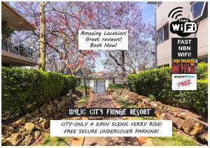 Waterfront Resort Style Studio - Brisbane Riverfront - WINTER SPECIAL!