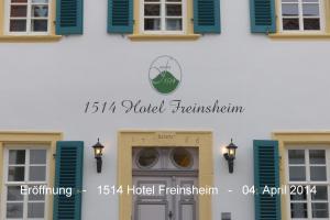 1514 Boutique Hotel Freinsheim - Großkarlbach