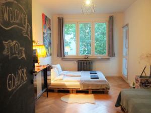 Apartament z balkonem komfort do 6 os Stare Miasto