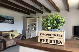 The Wee Barn. In the heart of the countryside