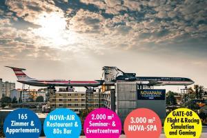 NOVAPARK Flugzeughotel Graz