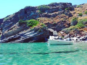 Seaside Villa Diamond - Unlimited Aegean Views Andros Greece